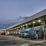 trucks-at-truckstop